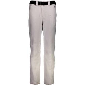 Kleidung Damen Jogginghosen Cmp Sport SkiPant W Nero 3W05526-U901 weiß