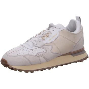Schuhe Damen Sneaker Low Moma Schnuerschuhe D.Halbschuhe wei? kombi 3AW199-CR weiß