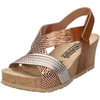 Schuhe Damen Sandalen / Sandaletten Mephisto Sandaletten Sandale P5137034370 beige