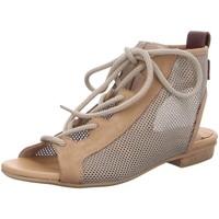Schuhe Damen Sandalen / Sandaletten Donna Carolina Sandaletten D allg 43.784.042-001 beige