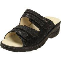 Schuhe Damen Hausschuhe Fidelio 236019-50 schwarz