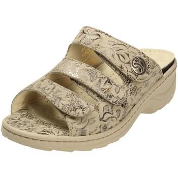 Schuhe Damen Hausschuhe Fidelio Hallux 236015-38 beige