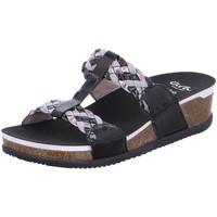Schuhe Damen Pantoffel Ara Pantoletten 12-38212-76 schwarz