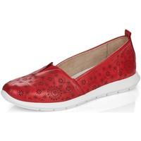 Schuhe Damen Slipper Remonte Dorndorf Slipper R7105-33 rot