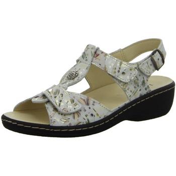 Schuhe Damen Sandalen / Sandaletten Longo Sandaletten Bequem-Sandalette, gold 1071613 1 grau