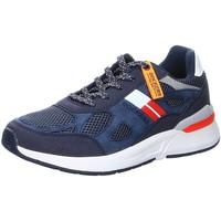 Schuhe Herren Sneaker Low Dockers by Gerli Schnuerschuhe Schnürhalbschuh 48MM002-607660 blau