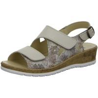 Schuhe Damen Sandalen / Sandaletten Longo Sandaletten -Bequemsandalette 1071621 beige