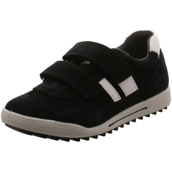 Schuhe Jungen Sneaker Low Imac Klettschuhe 731700 7000/001 schwarz