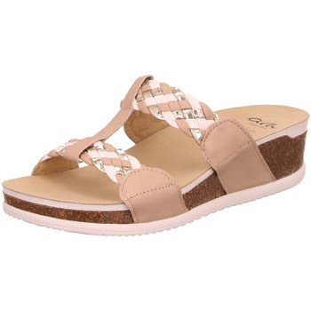 Schuhe Damen Pantoffel Ara Pantoletten 12-38212-78 beige