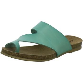 Schuhe Damen Pantoffel Cosmos Comfort Pantoletten 6106702-706 6106702-706 türkis