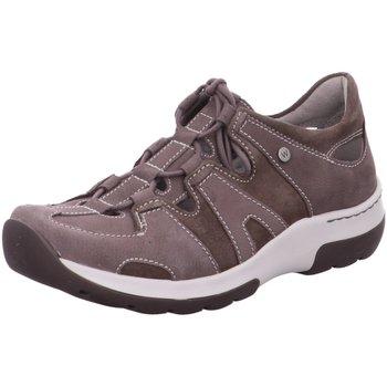 Schuhe Damen Sneaker Low Wolky Sportschuhe Nortec Antique nubuck-suede 0302811-205 grau