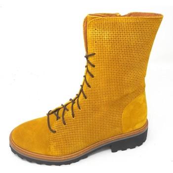 Schuhe Damen Klassische Stiefel Brako Stiefel Soul tina mostaza 3719 mostaza gelb
