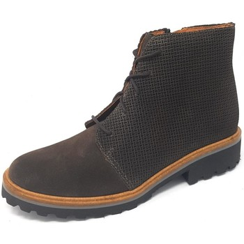 Schuhe Damen Boots Brako Stiefeletten Soul tina piedra 3716 piedra grau