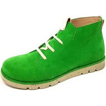 Schuhe Damen Boots Brako Schnuerschuhe Zan atlas menta 1530 menta grün