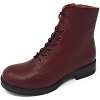 Schuhe Damen Low Boots Brako Stiefeletten ALBA cuero skimo 6737 cuero braun
