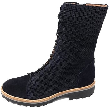 Schuhe Damen Klassische Stiefel Brako Stiefel Soul tina marino 3719 marino blau