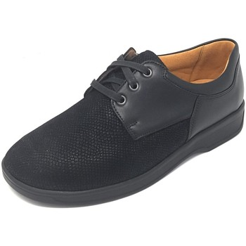 Schuhe Damen Derby-Schuhe Ganter Schnuerschuhe KARIN 205705-0100 schwarz