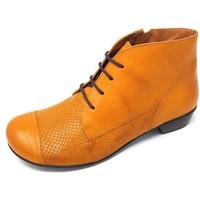 Schuhe Damen Low Boots Brako Stiefeletten Bem mostaza skimo 6428 mostaza gelb