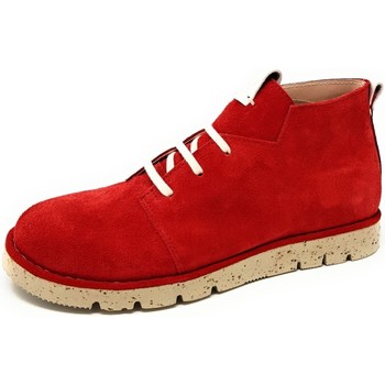 Schuhe Damen Boots Brako Stiefeletten Zan atlas rojo 1530 rojo rot