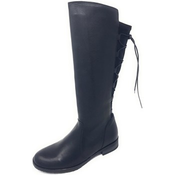 Schuhe Damen Klassische Stiefel Brako Stiefel Bravia skimo negro 3928 negro schwarz