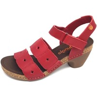 Schuhe Damen Sandalen / Sandaletten Diverse Sandaletten Pop rojo loto 7452 rojo loto rot