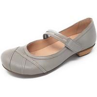 Schuhe Damen Ballerinas Brako Slipper BEM tuscany ash 6465 ash grau