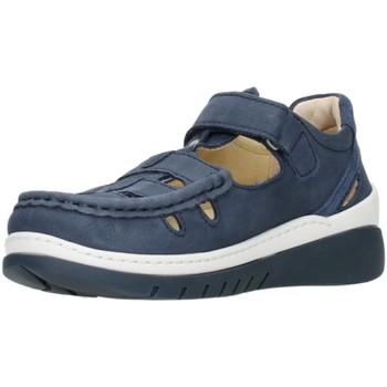Schuhe Damen Sandalen / Sandaletten Wolky Sandaletten Bite Antique nubuck 0485411-820-byte blau
