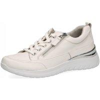 Schuhe Damen Sneaker Low Caprice Schnuerschuhe 9-9-23713-26 160 weiß