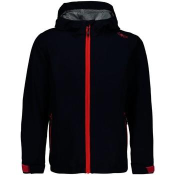 Kleidung Jungen Trainingsjacken Cmp Sport GIRL JACKET FIX HOOD 39X7985 N950 blau