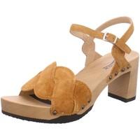 Schuhe Damen Sandalen / Sandaletten Softclox Must-Haves Lissy S3545 braun