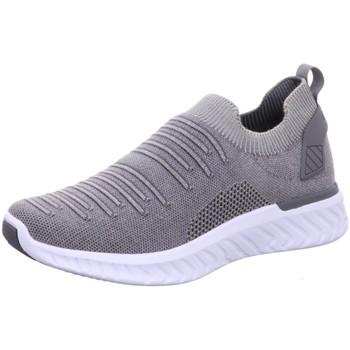 Schuhe Herren Slip on Ara Slipper 11-35096-11 grau