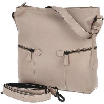 Taschen Damen Umhängetaschen Voi Leather Design Mode Accessoires 21194 FAWN beige