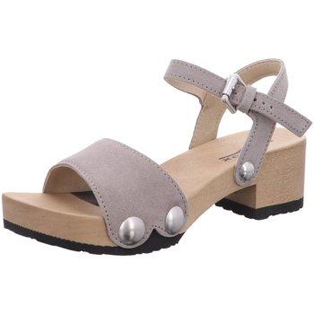 Schuhe Damen Sandalen / Sandaletten Softclox Sandaletten Penny 3378 schlamm grau