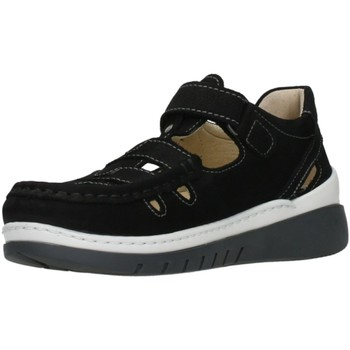 Schuhe Damen Sandalen / Sandaletten Wolky Sandaletten 4854-11-070 schwarz