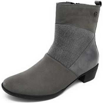 Schuhe Damen Low Boots Hartjes Stiefeletten XS City Boot granit 18372-4949 grau