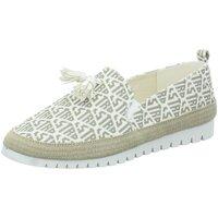 Schuhe Damen Slipper La Strada Slipper Leichter Slipper aus Textil 2020120 BEIGE/WHITE beige