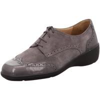 Schuhe Damen Derby-Schuhe Solidus Schnuerschuhe Hedda J 26452-20184 grau