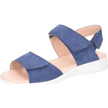 Schuhe Damen Sandalen / Sandaletten Legero Sandaletten Sandale Leder \ FANTASTIC 2-000775-8600 blau