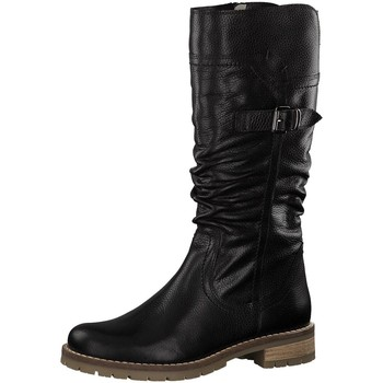 Schuhe Damen Klassische Stiefel Be Natural Stiefel Da.-Stiefel 8-8-26607-21 001 schwarz