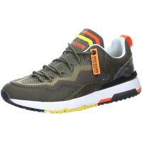 Schuhe Herren Sneaker Low Dockers by Gerli Schnuerschuhe Sneaker 48XR001-706850 grün
