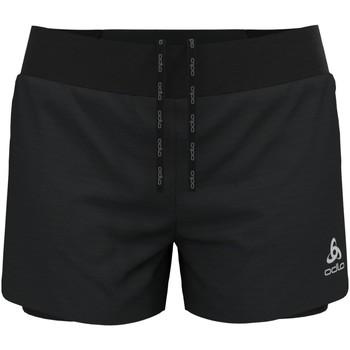 Kleidung Damen Shorts / Bermudas Odlo Sport 2-in-1 ZEROWEIGHT 3 INC 322561 15000 schwarz