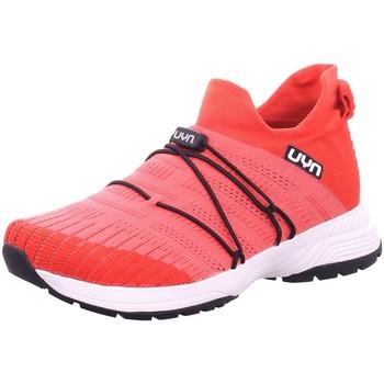 Schuhe Damen Wanderschuhe Uyn Schnuerschuhe Free-Flow Y100012-93 rot