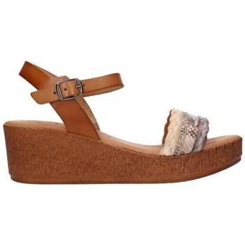 Schuhe Damen Sandalen / Sandaletten Lola Rico 910 Mujer Taupe marron