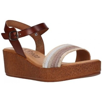 Schuhe Damen Sandalen / Sandaletten Lola Rico 911 Mujer Marron marron