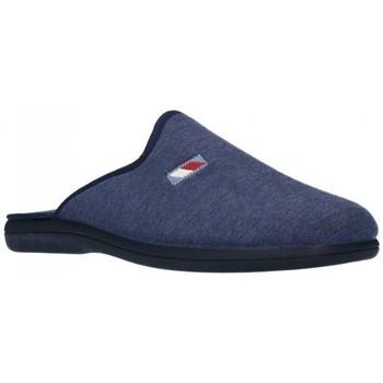 Schuhe Herren Hausschuhe Calzamur 24007001 Dublin A53 Hombre Azul marino bleu