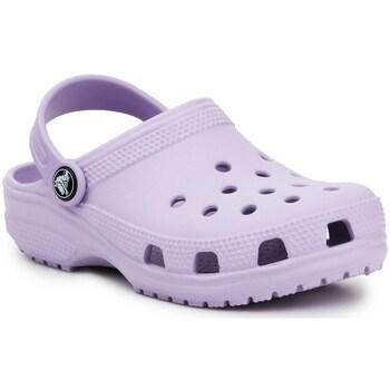 Schuhe Kinder Pantoletten / Clogs Crocs Classic Clog K Violett