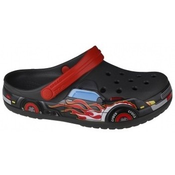 Schuhe Pantoletten / Clogs Crocs Fun Lab Truck Band Clog Grau
