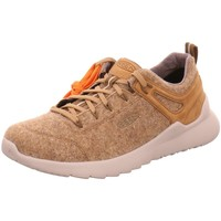 Schuhe Herren Sneaker Low Keen Schnuerschuhe HIGHLAND ARWAY M-TAUPE/PLAZA T 1024524 beige