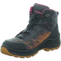 Schuhe Jungen Wanderschuhe Lowa Bergschuhe Zirrox GTX Mid Jr. 640118-9782 grau