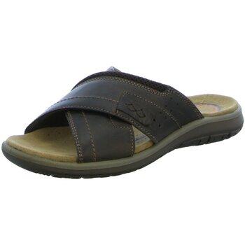 Schuhe Herren Pantoffel Salamander Offene LOGATO 31-840001-14 braun